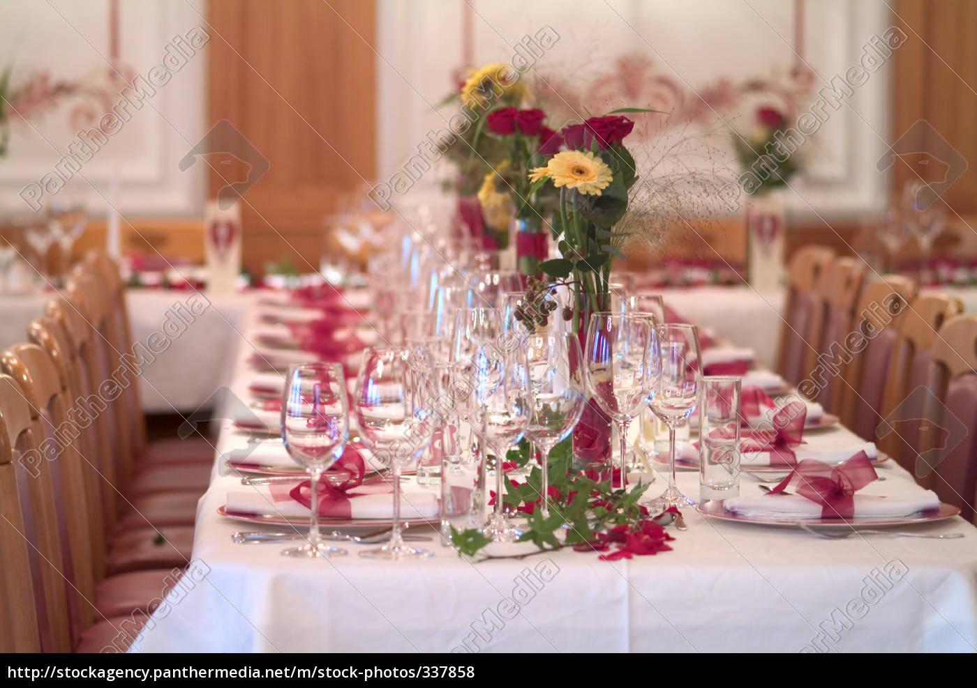 Dekoration Tisch.Stock Bild 337858 Tisch Dekoration 12