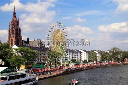 fan mile in frankfurt