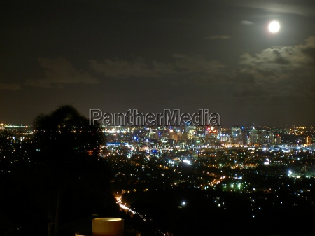 night scene brisbane