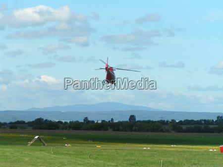 aufbruch zum brocken mit dem helikopter