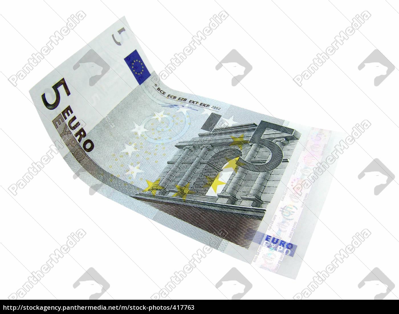 fünf, euro - 417763