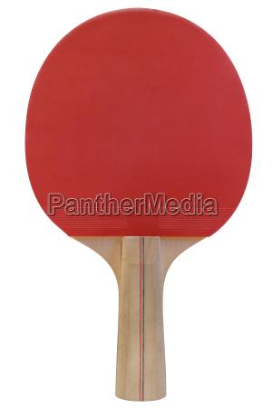 einzelner tischtennisschlaeger