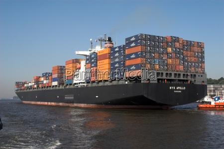 containerschiffsheck