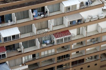 balconies from birds