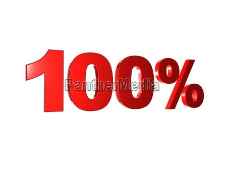 100 prozent 1