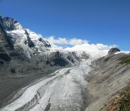 gletscherreste am grossglockner