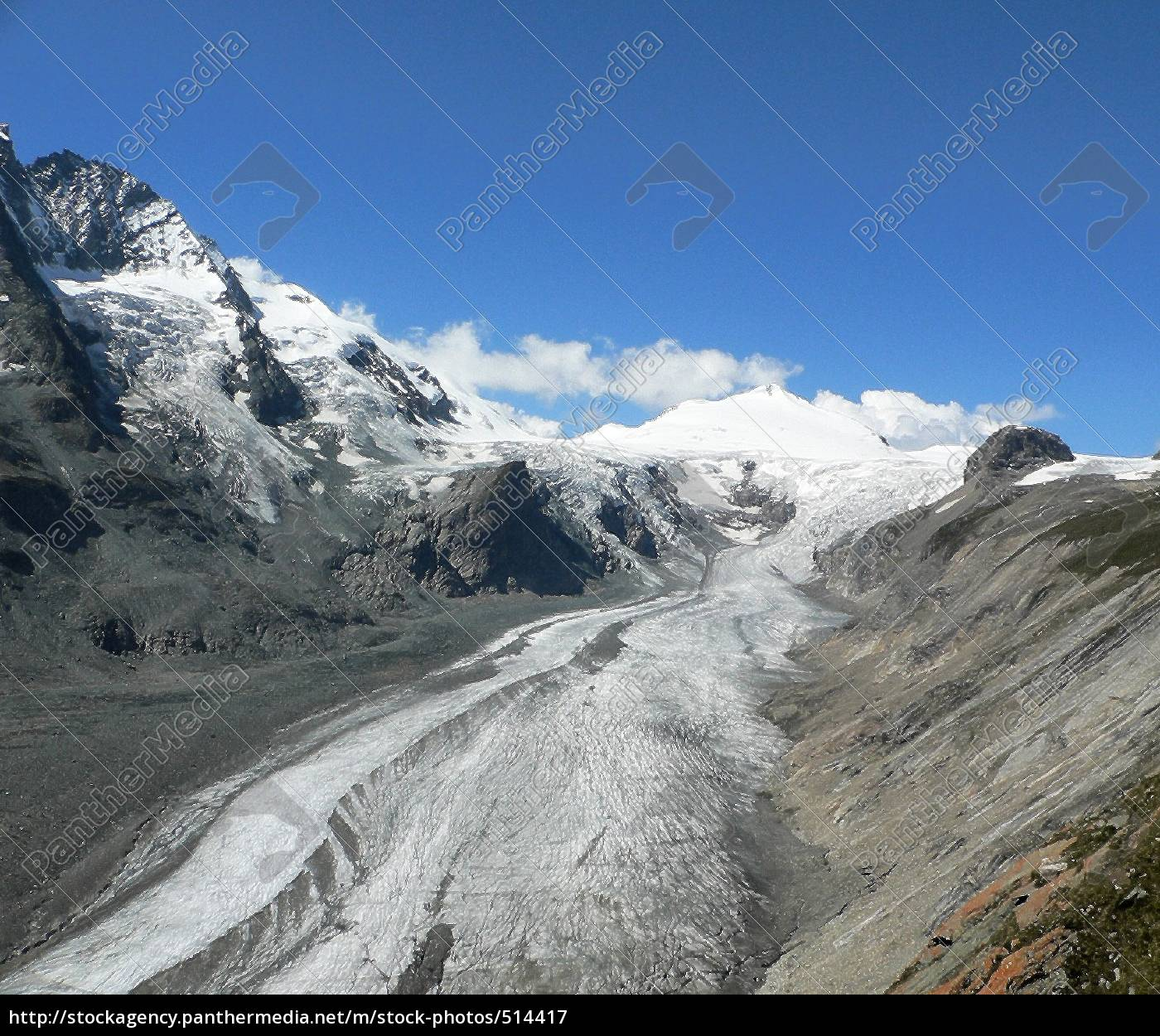 gletscherreste, am, grossglockner - 514417
