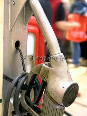 retro gas pump