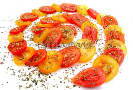 tomaten mit oregano