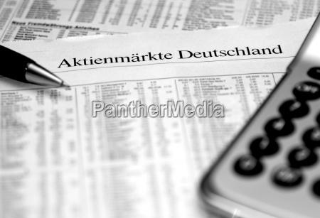 aktienmarkt deutschland