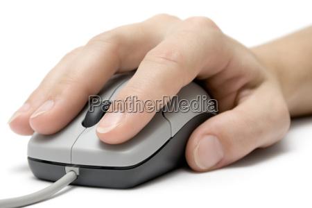 scrollen und klicken