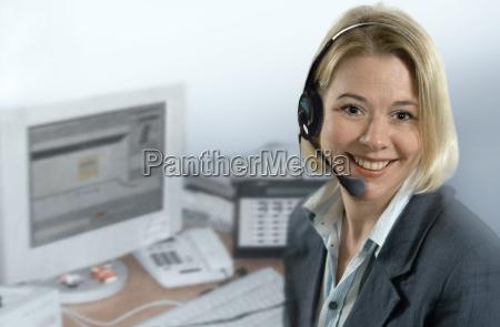 callcenter agentin