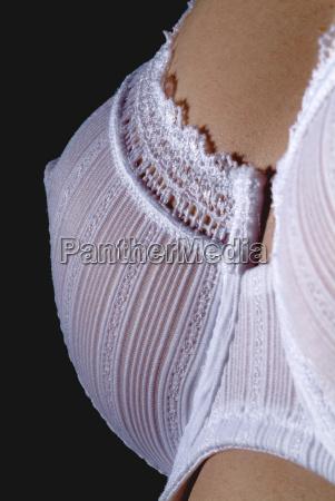 woman with white bra