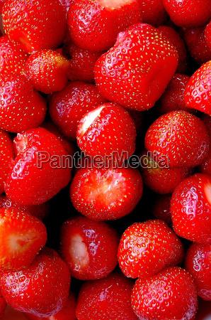 vitamine fruechte erdbeere rot roter rotes