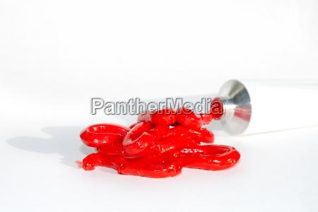 rot aus der tube