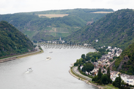 rhine at st goar