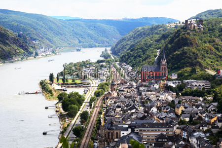oberwesel on the rhine