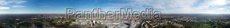 360 grad panorama ueber muenchen