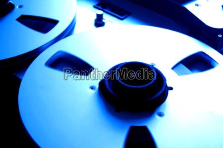 blau musik studioaufnahme modern moderne medien