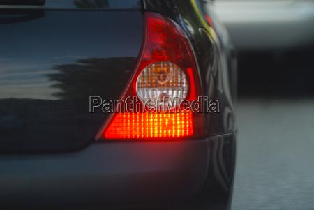 brake light on the car