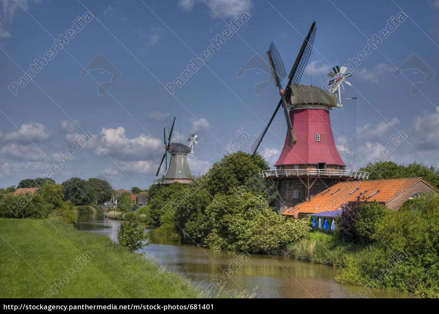 zwillingsmühlen, von, greetsiel - 681401