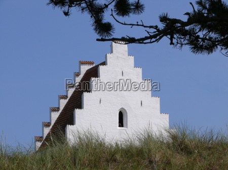 versandete kirche in skagen dk