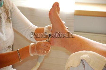 medizinische fusspflege