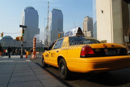 taxi transport manhattan cab nyc amerika
