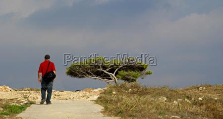 der mann im panorama