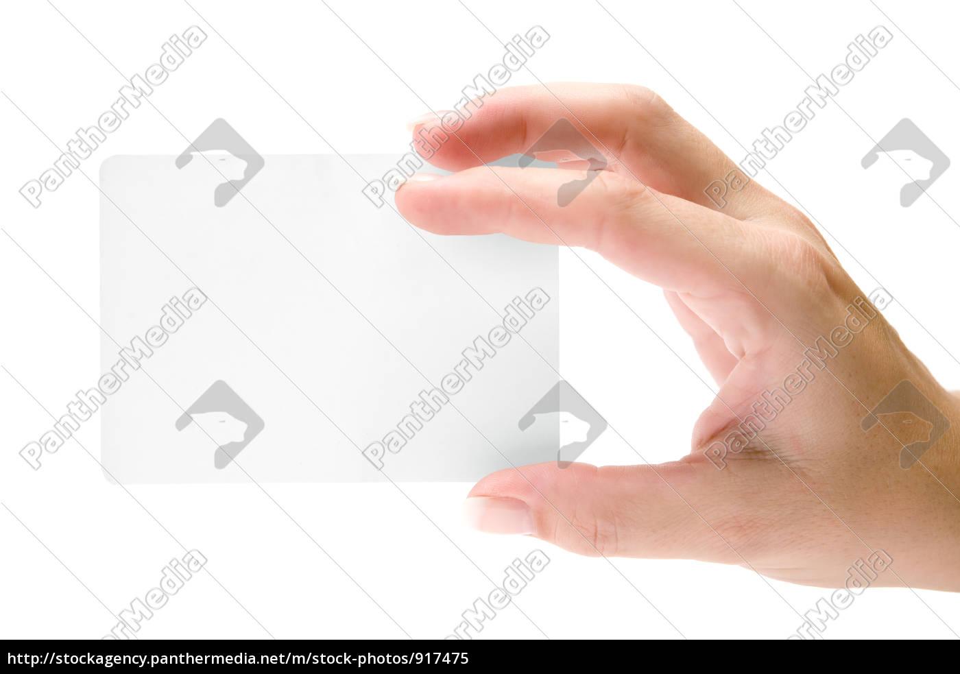 Stockfoto 917475 Leere Visitenkarte