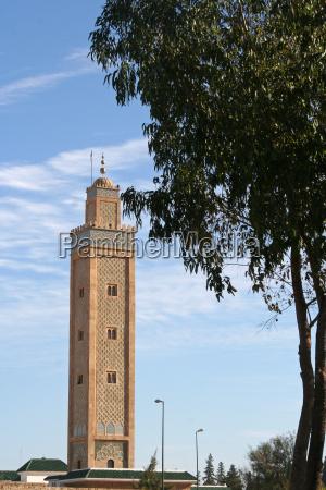 minarett in meknes