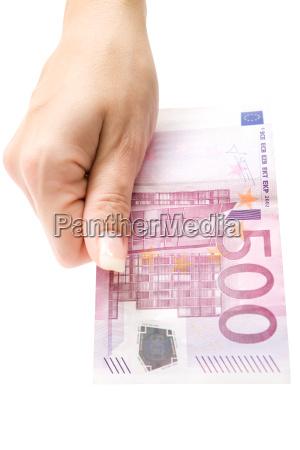 500 euro angebot
