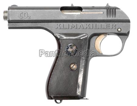 pistole model co2