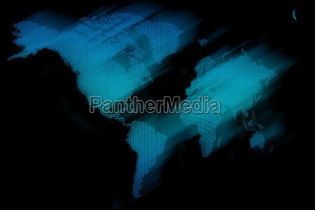 weltkarte cyberspace
