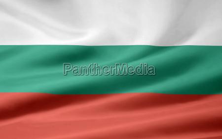 bulgarische flagge
