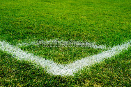 soccer field corner area