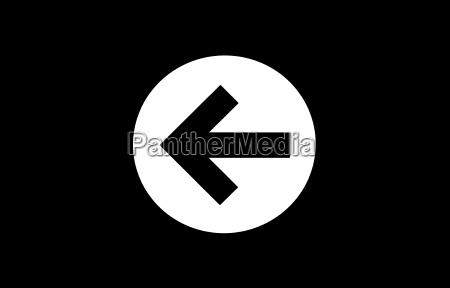 sign signal black swarthy jetblack deep