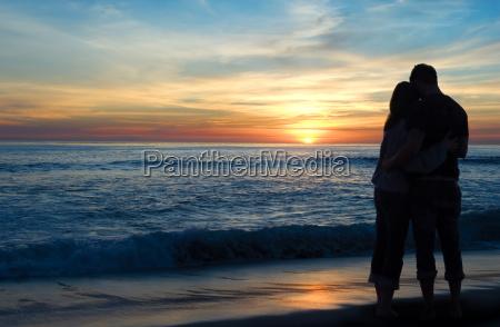 sonnenuntergang romantik