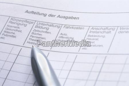 haushaltsbuch