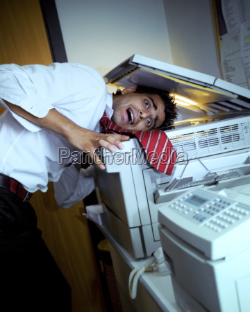 problems with the copy machine