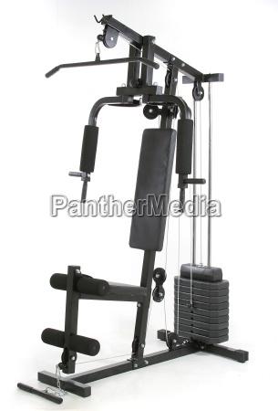 gym und muskel maschine