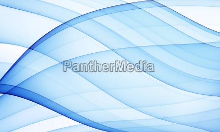 blue silky curves