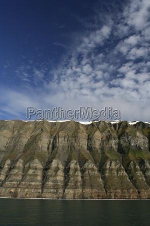 steilkueste auf spitzbergen