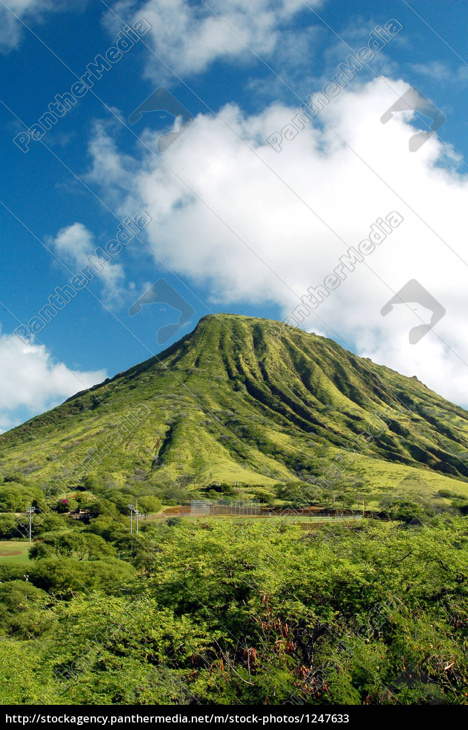 green, mountain, auf, hawaii - 1247633