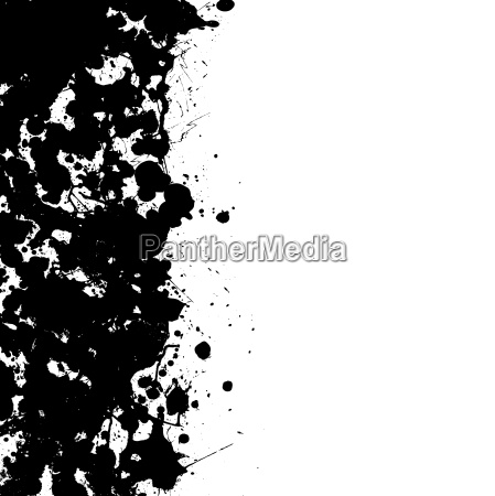 solid ink splat border