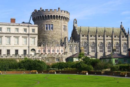 dublin castle in dublin irland