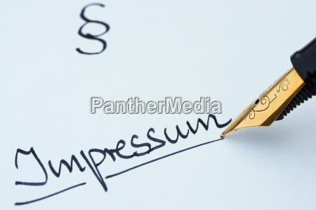 impressum