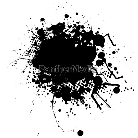 ink splat blob