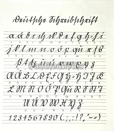 schule suetterlinschrift