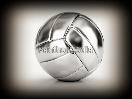 silver volley ball